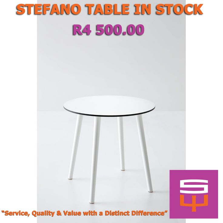 STEFANO TABLE IN STOCK #INSTOCK #TABLE #FURNITURE #CHAIRS #SWCONTRACTS #JOHANNESBURG #CAPETOWN #SOUTHAFRICA