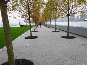Resin bound gravel in CORE gravel grid at FDR Park, New York