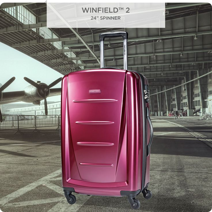 Take your travels to the next level with our Winfield 2 Hardside Spinner. Light, and visually appealing, you'll reach your final destination with ease.