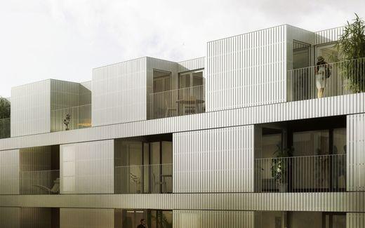 Oscar Properties : HG7 #oscarproperties architecture, house, design, stockholm, hammarby sjöstad #packhuset