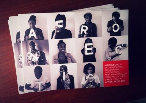 Afroklectic postcards (2011)