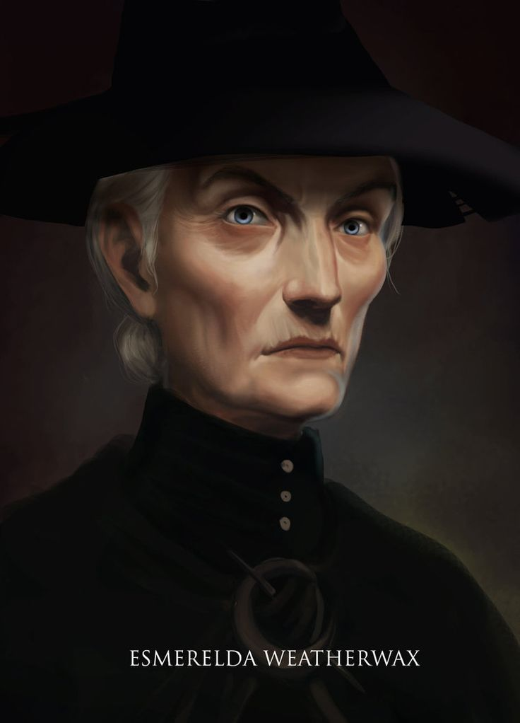 Granny Weatherwax, also called Mistress, Granny, or Esme. by DaoyiLiu. from the Discworld books by Terry Pratchett