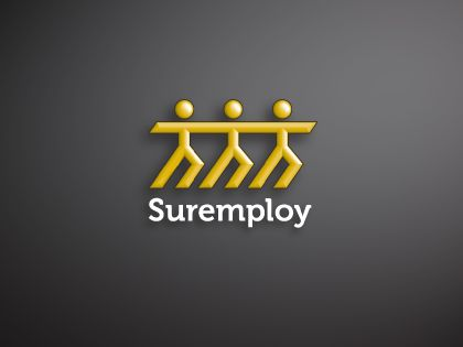 Suremploy logo. Copyright © 2013 Shelley Poole. All rights reserved.