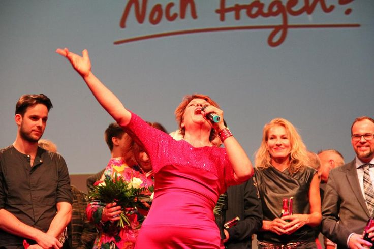 Yes she can: Gayle Tufts beim grandiosen Finale!
