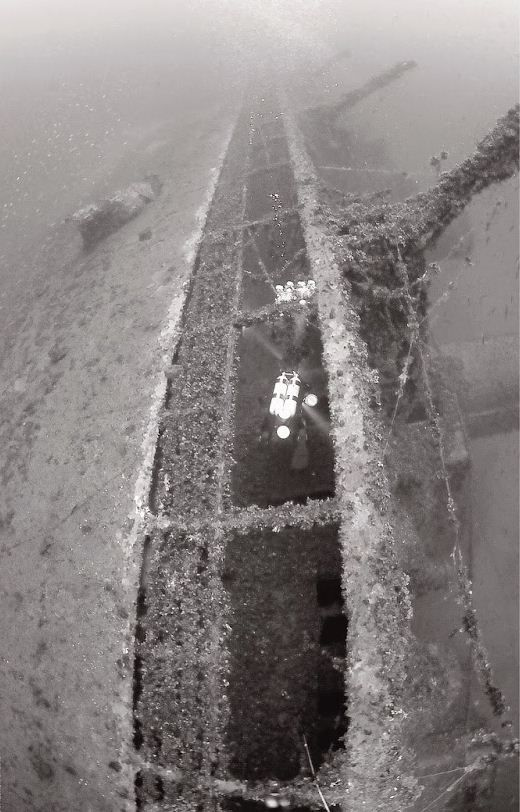 FOUND! Théophile Gautier: A French ocean liner at the seabed of the Aegean