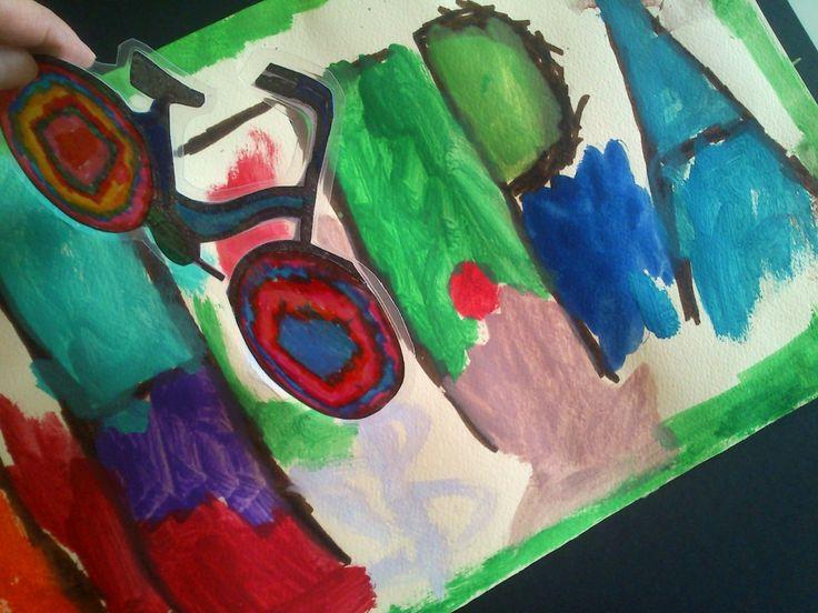Ένα διασκεδαστικό αυτοσχέδιο παιχνίδι για να μάθουν τα παιδιά εύκολα και ευχάριστα το όνομά τους!!! Το όνομά μου είναι το μονοπάτι μέσα σ' ένα φανταστικό δάσος που ζωγραφίζω με νερομπογιές. Π…
