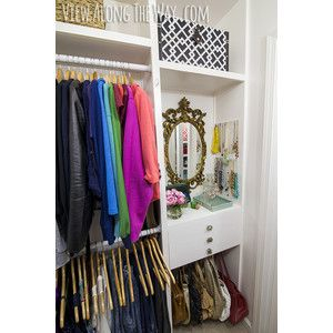 *Girly-Glam Closet Makeover REVEAL!* - * View Along the Way *