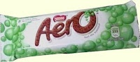 Aero Mint Choc Bar - I like it, but I've searched far and wide for the dark chocolate, which I don't think they make anymore. :(