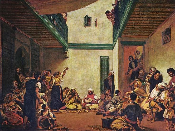 Delacroix, Jewish Wedding in Marocco, 1839