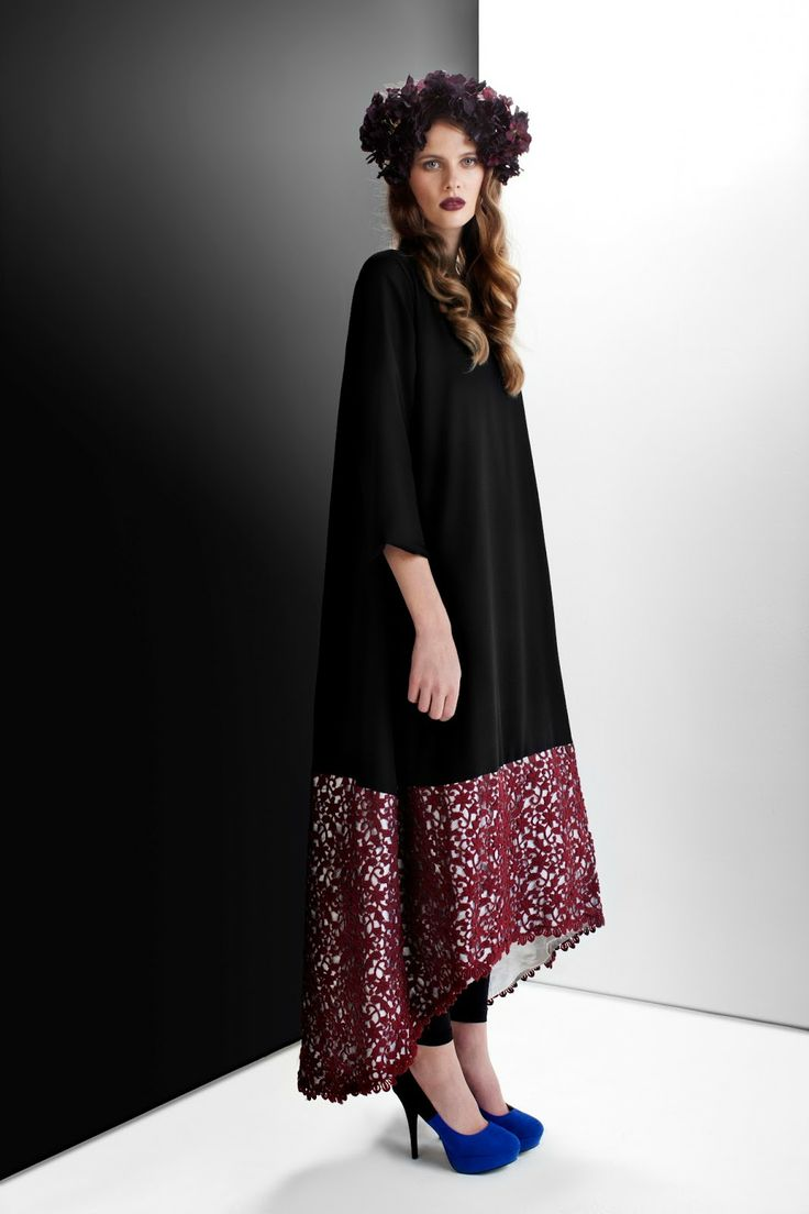 Lace umbrella abaya  Pin by Samira Bentaleb on Magnifique  Pinterest  Twists Classic