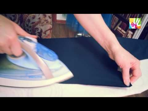 Оттяжка в женских брюках - YouTube
