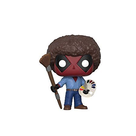 Bob Ross Brand New In Box POP Marvel Funko Deadpool Playtime