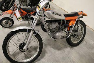 OldMotoDude: 1974 Suzuki Trials Bike sold for $2,750 at the 2017 Mecum Las Vegas Motorcycle Auction