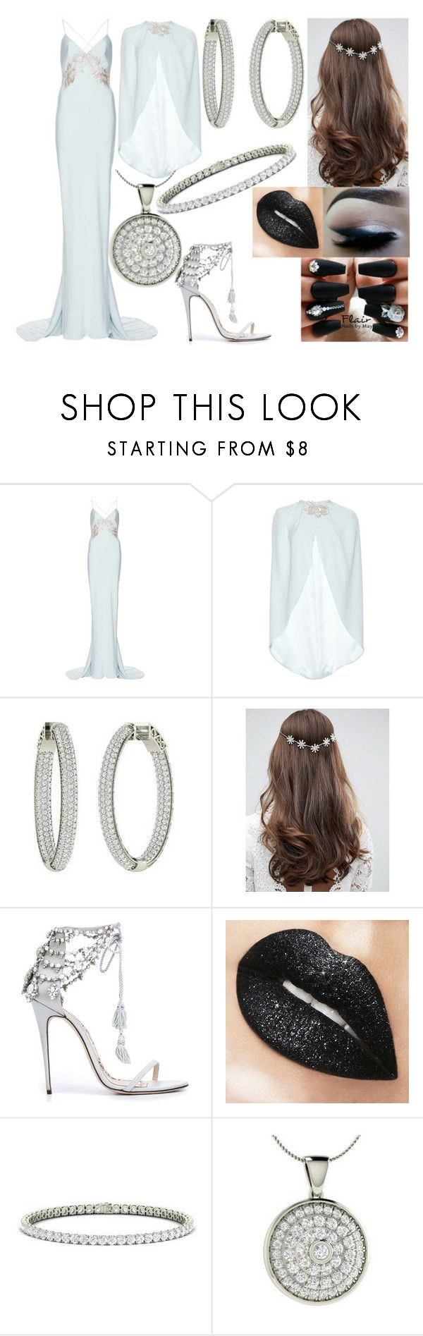 """Untitled #41"" by honeythismirrorisntbigenough on Polyvore featuring Elizabeth Fillmore, ASOS and Marchesa"