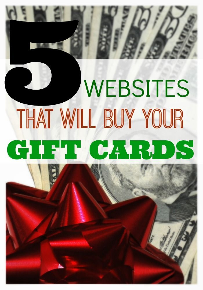 Do you have an unused gift card that you'd like to trade in? You can sell gift cards online for cash at these 5 websites.