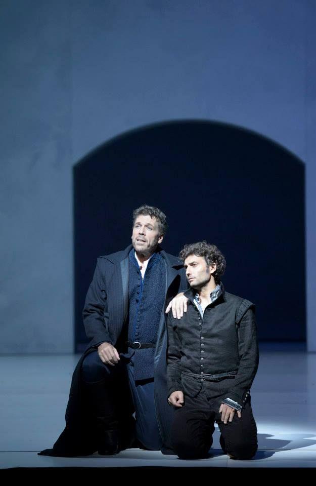 Thomas Hampson and Jonas Kaufmann. Salzburger Festspiele 2013, Don Carlos von Verdi!