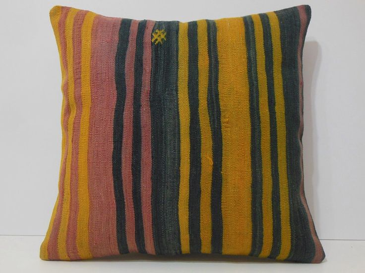 24x24 yellow luxury throw pillows black cute throw pillows coral couch pillows stirpe oversized throw pillows red throw pillow kilim pillows by DECOLICKILIMPILLOWS on Etsy https://www.etsy.com/listing/216920998/24x24-yellow-luxury-throw-pillows-black