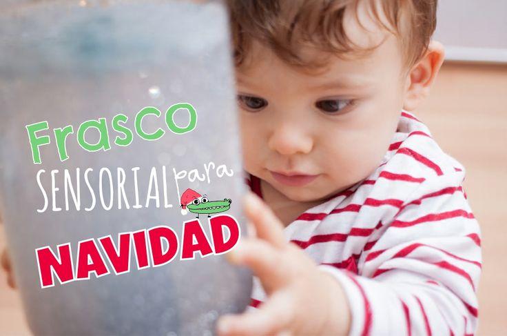 #ActividadesSensoriales para #Navidad en #ManualidadesInfantiles