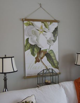 Hanging Frame For Poster Or Fabric Print Etc Made With