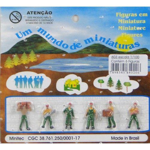 MINIATURA PARA MAQUETE  CARREGADORES 603 - ESCALA 1/100 MINITEC