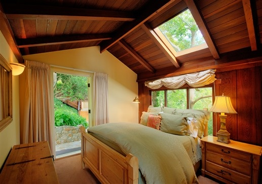 A unique room at Tickle Pink Inn, a bed and breakfast in Carmel, California