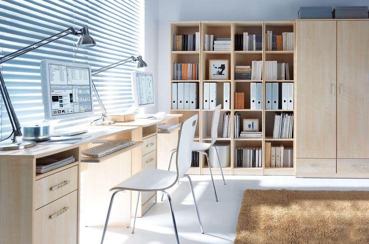 Meble do biura i do gabinetu #TwojeMeble #TwojeBiuro #Biurko #BRWOffice #BlackRedWhite #furniture #home