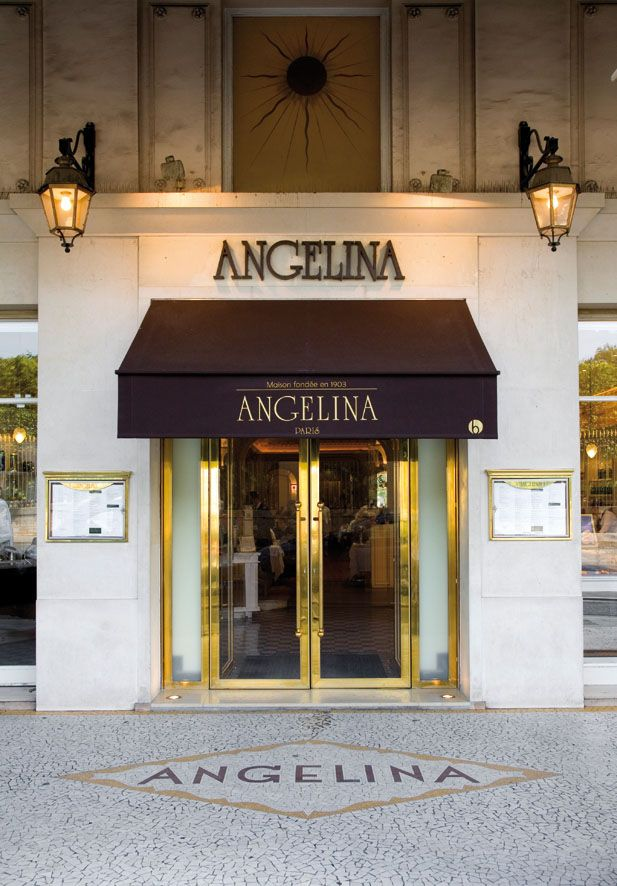 Angelina, Paris - Absolutely the best hot chocolate! Also serving pasteries. Several Paris locations.