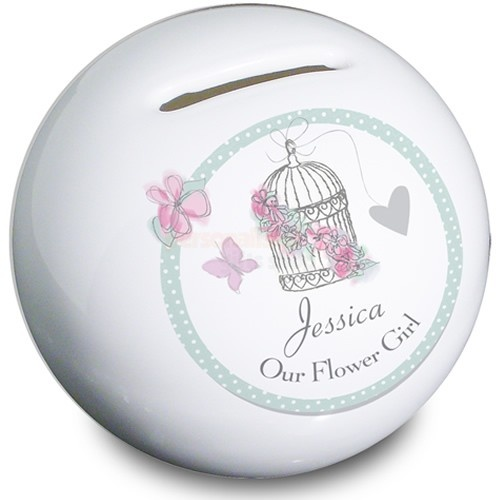 Personalised Bird Cage Wedding Money Box  from Personalised Gifts Shop - ONLY £14.95