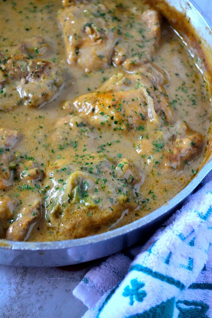 Quick and comforting dinner doesn't have to take hours. Try my Smothered Chicken and Gravy recipe! Don't forget the rice or mashed potatoes!