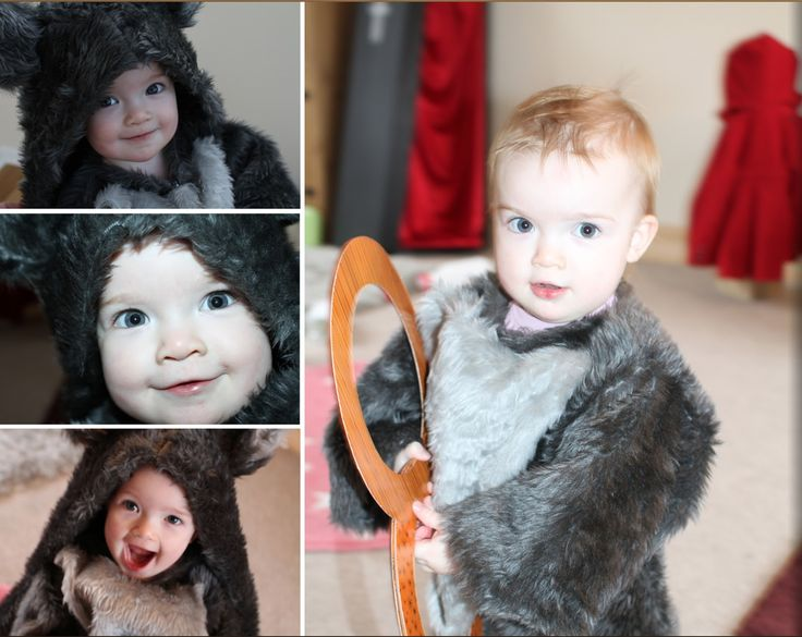 Fun Times...: Homemade Toddler Wolf Costume