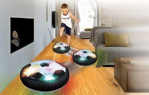 Light Up, Air Powered Soccer Disc