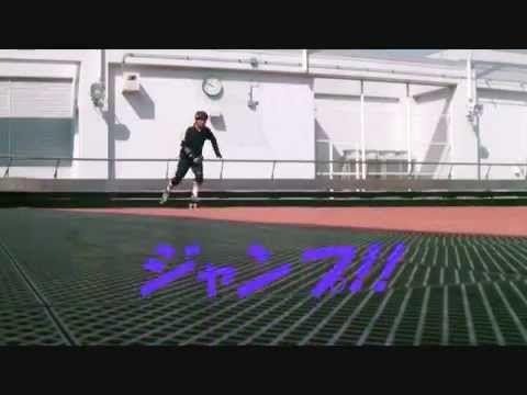 ローラーダービーチーム東京ダービードールスのヘッドコーチ・ダニーのJump