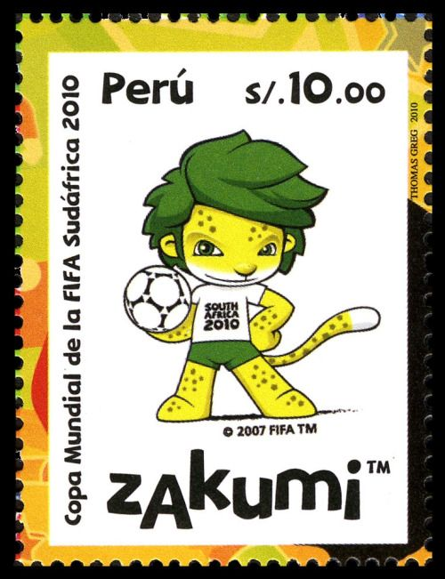 Soccer World Cup, South Africa 2010Peru, 2010