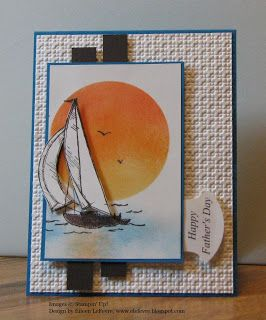 """Thursday, May 26 Eileen's """"Stampin' Fever"""" Blog: Sail Away"""
