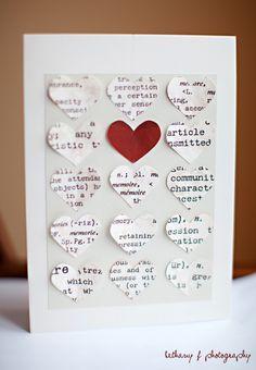 diy valentines card - Google Search