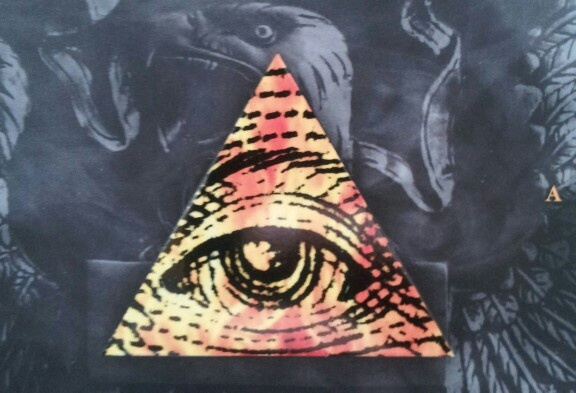 All Seeing Eye with detail