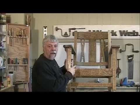 Restoring an Antique Rocking Chair.