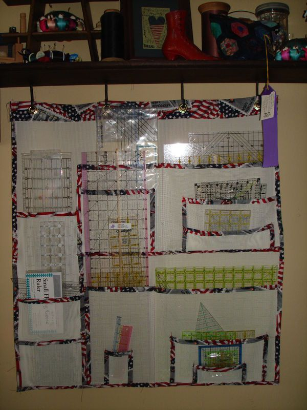 pet screen hanging ruler organizer