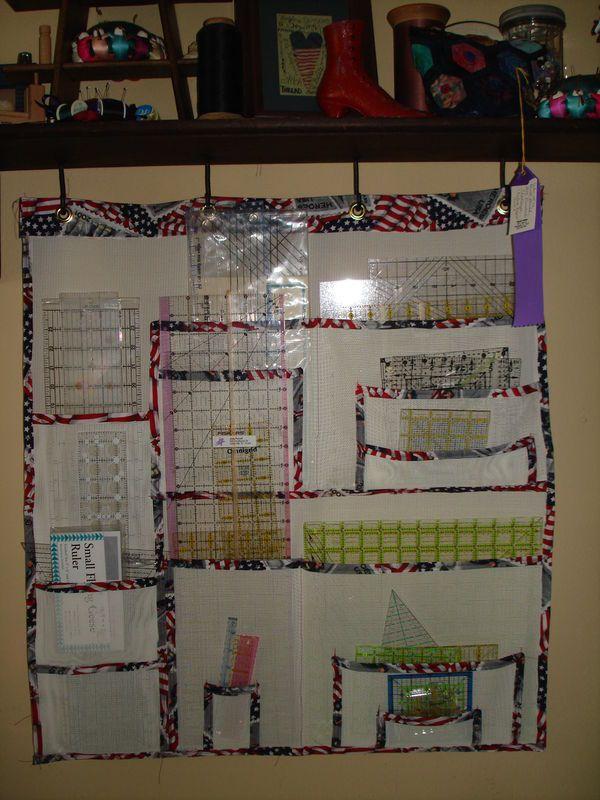 pet screen hanging ruler organizer