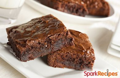 Diet Soda Brownies Recipe - Only brownie mix and diet cola. Easy, cheap and so much better for you.