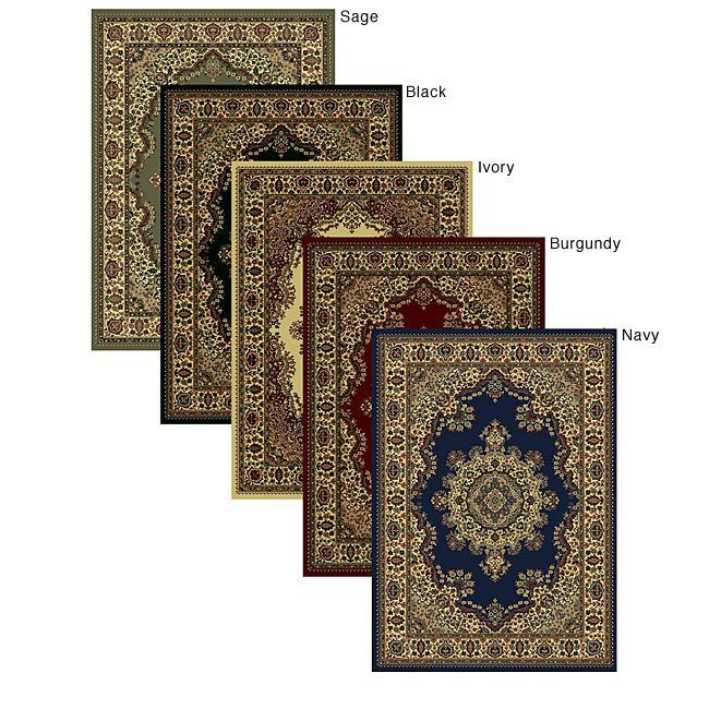 Five Color Choices For This Elegantly Stated Oriental Rug With A  Traditional Floral Design. Refined And Elegant, This Rug Adds That Touch To  Your Home Or ...