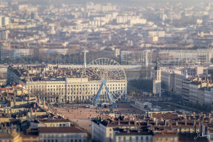 Lyon, Place Bellecour, France by J. Ubassy on 500px
