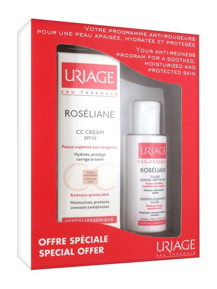 Uriage Roséliane Анти-Покраснение Программа € 11,58