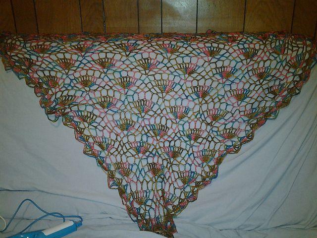 crochet festival shawl Ravelry: tamsin5's Festival Shawl