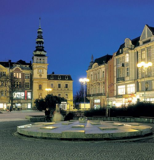 Ostrava-- strictly favorite place because of family living there