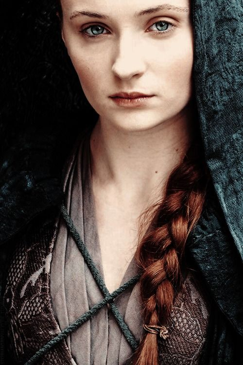 I have always loved Sansa and being of around the same age, I feel as if I have grown up with her!