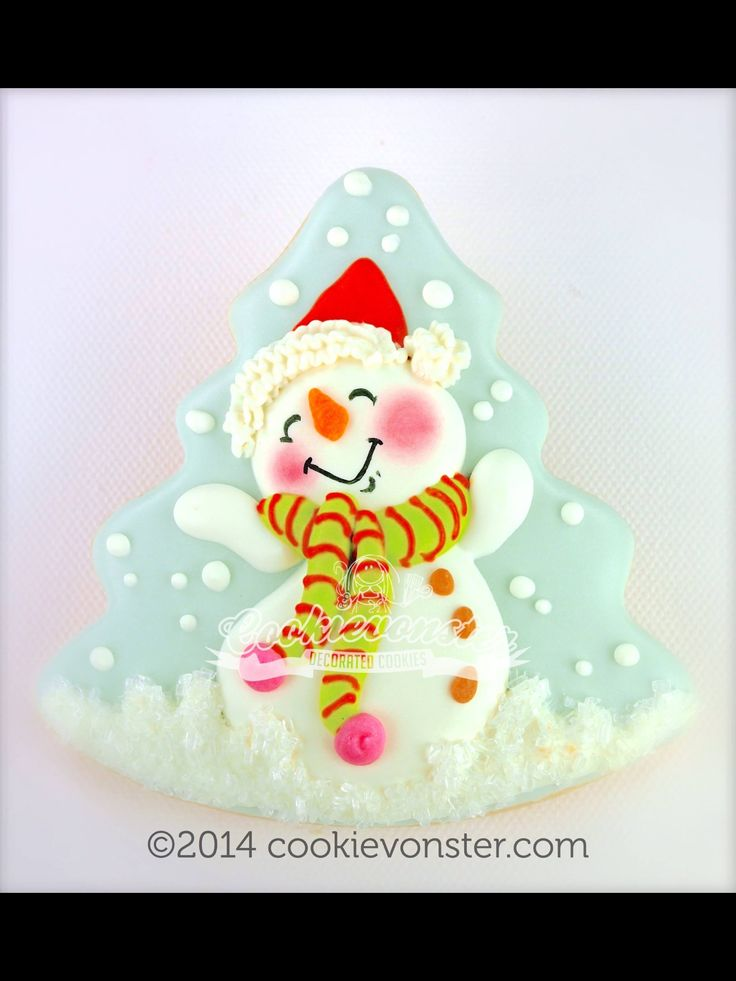 Galletas Decoradas Mu Ef Bf Bdeco De Nieve