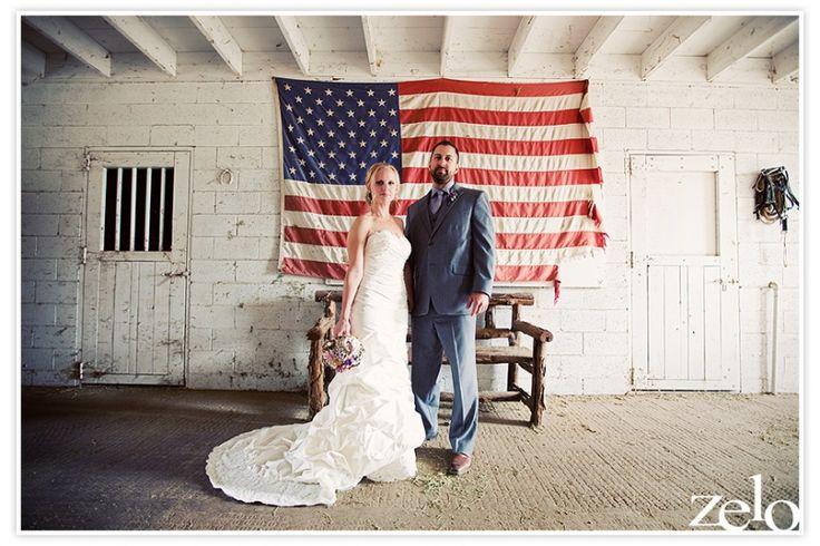 国旗をバックにして♡アメリカでの結婚式一覧♡ウェディング・ブライダルの参考に♪