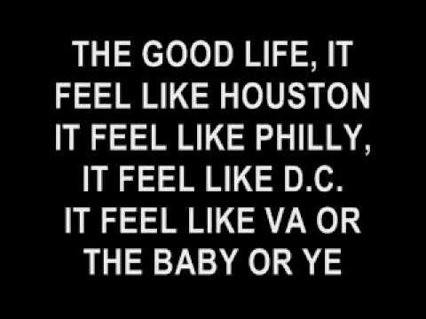 GOOD LIFE LYRICS KANYE WEST AND T PAIN - YouTube