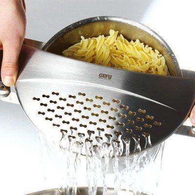 A strainer top. | 11 Affordable Kitchen Utensils That Will Change Your Life